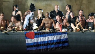 Queer Last Supper photo (2007 Folsom Street Fair)
