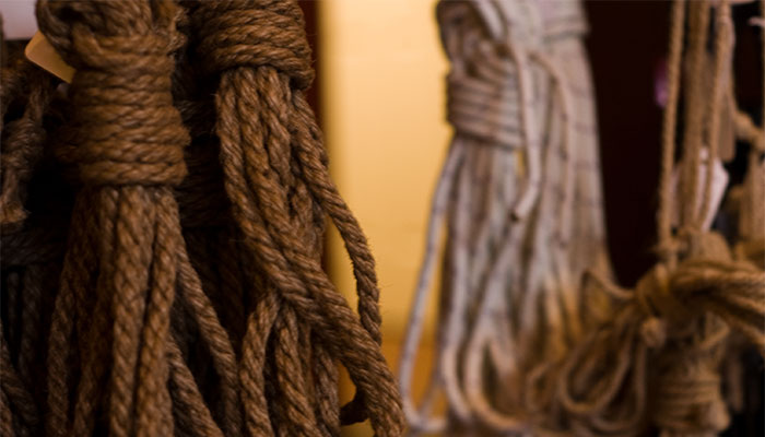 Ropes at Wicked Grounds Café, Copyright 2009, Audrey Penven.