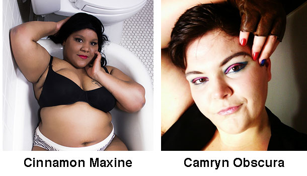 Cinnamon Maxxine and Camryn Obscura