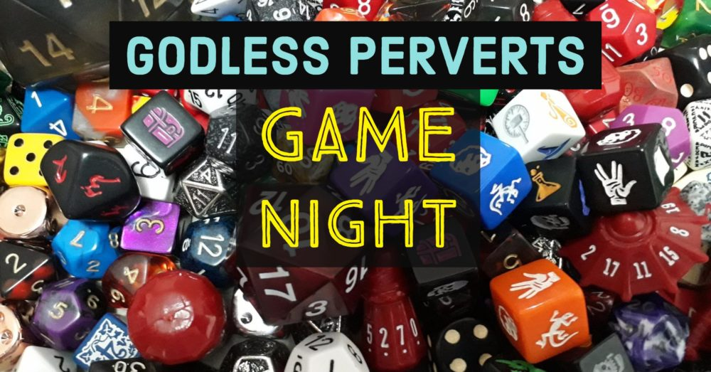 image of game pieces with text superimposed